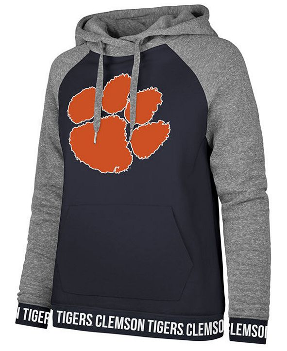 '47 Brand Women's Clemson Tigers Encore Revolve Hooded Sweatshirt