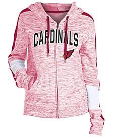 Women's Arizona Cardinals Space Dye Full-Zip Hoodie
