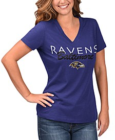 Women's Baltimore Ravens Teamwork T-Shirt