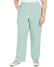 Plus Size Lake Geneva Proportioned Corduroy Pants