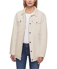 Cotton Oversized Trucker Jacket