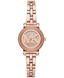 Women's Petite Sofie Rose Gold-Tone Stainless Steel Bracelet Watch 26mm