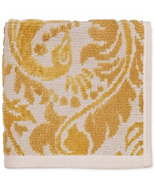 "CLOSEOUT! Peacock Cotton 12"" x 12"" Wash Cloth"