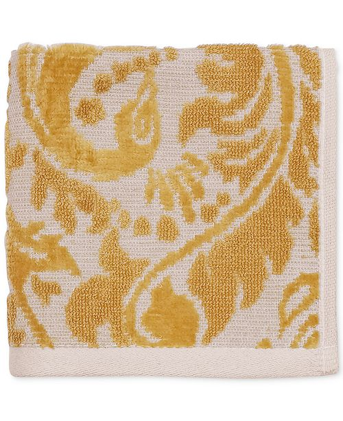 "CHF Peacock Cotton 12"" x 12"" Wash Cloth"