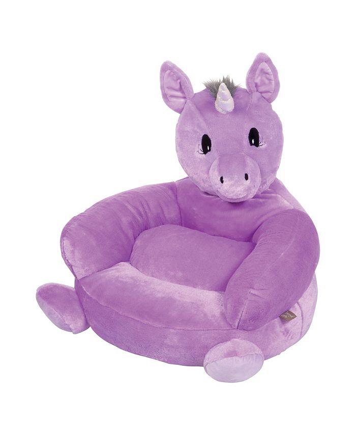 Trend Lab - Children's Plush Unicorn Character Chair