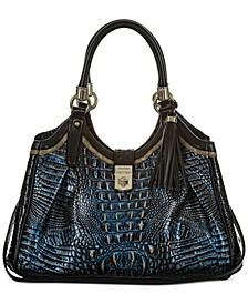 Elisa Crowe Leather Satchel