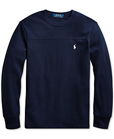 Polo Ralph Lauren Big Boys Waffle Knit Thermal