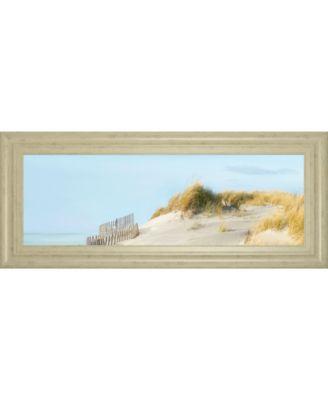 "Beachscape I by James Mcloughlin Framed Print Wall Art, 18"" x 42"""