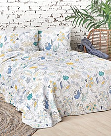 Brie Lagoon King Quilt