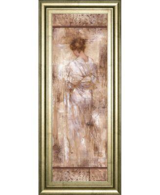 """Grecian Bath I by Fressinier Framed Print Wall Art, 18"""" x 42"""""""