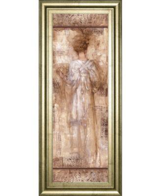 """Grecian Bath II by Fressinier Framed Print Wall Art, 18"""" x 42"""""""