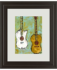 "Six Strings III by Deann Herbert Framed Print Wall Art, 34"" x 40"""