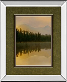 """Twilight Reflection I by Danita Delimont and Mossy Oak Native Living Mirror Framed Print Wall Art, 34"""" x 40"""""""