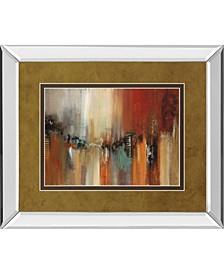 "Skyline by Cat Tesla Mirror Framed Print Wall Art, 34"" x 40"""