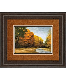 "Evening Walk by Robert Striffolino Framed Print Wall Art, 34"" x 40"""