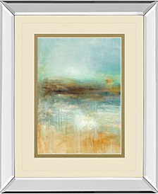 """Let The Summer Sun Shine by Pasion Mirror Framed Print Wall Art, 34"""" x 40"""""""