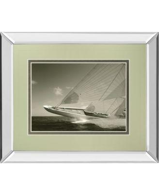 Sea Spray II by Michael Kahn Mirror Framed Print Wall Art, 34