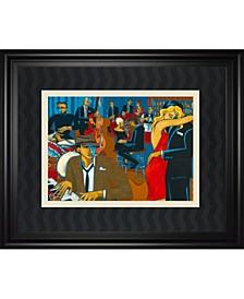"After Hours by Marsha Hammel Framed Print Wall Art, 34"" x 40"""