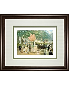 "Balloon Seller by Alan Maley Framed Print Wall Art, 34"" x 40"""