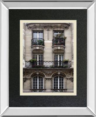 "Balcon Parisien II by Tony Koukos Mirror Framed Print Wall Art, 34"" x 40"""