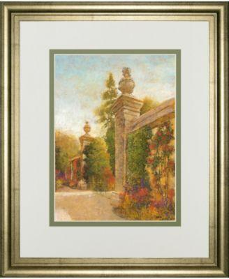 "English Garden II by Patrick Framed Print Wall Art, 34"" x 40"""