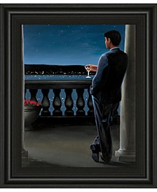 """Thinking of Her by James Wiens Framed Print Wall Art, 22"""" x 26"""""""