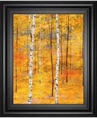 "Iridescent Trees V by Alex Jawdokimov Framed Print Wall Art, 22"" x 26"""