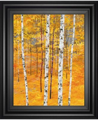 "Iridescent Trees IV by Alex Jawdokimov Framed Print Wall Art, 22"" x 26"""