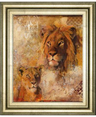 "Wild Kingdom II by Georgie Framed Print Wall Art, 22"" x 26"""