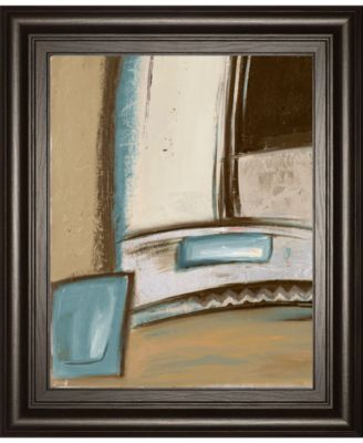 """Time Flies on Blue I by Patricia Pinto Framed Print Wall Art, 22"""" x 26"""""""