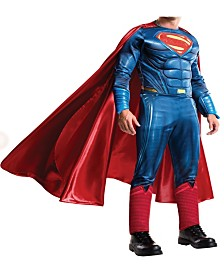 BuySeason Men's Batman V Superman- Dawn of Justice - Grand Heritage Superman Costume