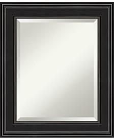 """Ridge Framed Bathroom Vanity Wall Mirror, 21.75"""" x 25.75"""""""