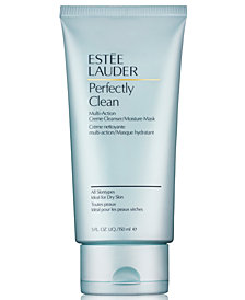 Estée Lauder Perfectly Clean Multi-Action Creme Cleanser/Moisture Mask, 5 oz.