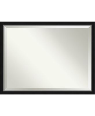 "Eva Silver-tone Framed Bathroom Vanity Wall Mirror, 43.12"" x 33.12"""
