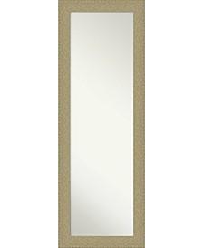 "Mosaic Gold-tone on The Door Full Length Mirror, 18.25"" x 52.25"""