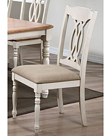 Company Traditional Back Upholstered Seat Dining Chairs, Set of 2