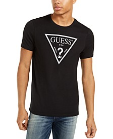 Men's Reflective Triangle Logo T-Shirt