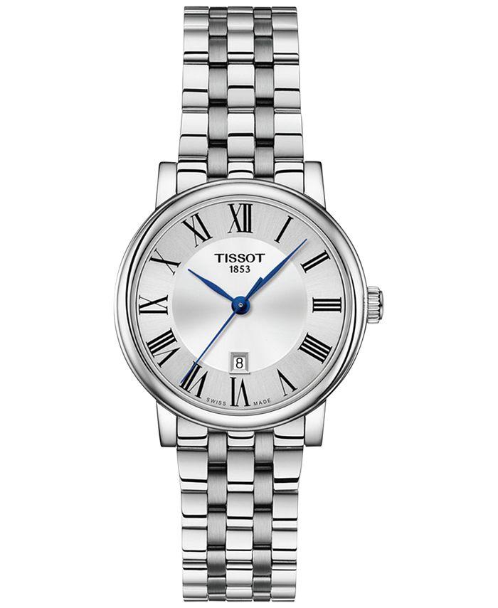 Tissot - Women's Swiss Carson Premium Stainless Steel Bracelet Watch 30mm