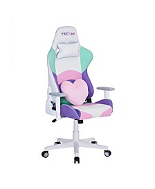 Techni Sport PC Pink Gaming Chair, Quick Ship