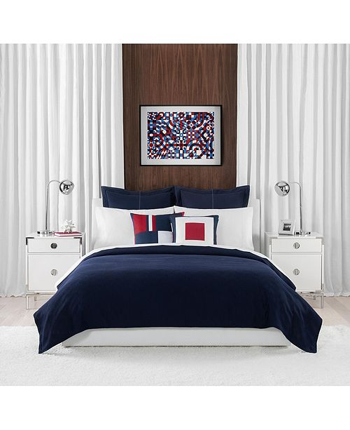 Tommy Hilfiger Tommy Classic Pique Full/Queen Comforter Set