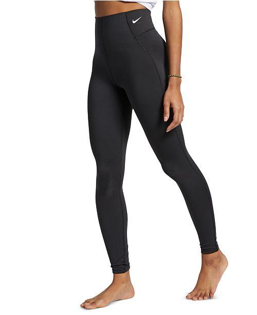 Nike Women S Sculpt Dri Fit High Waist Compression Leggings Reviews Women Macy S