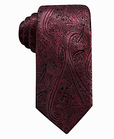 Men's Felipe Slim Paisley Tie, Created For Macy's