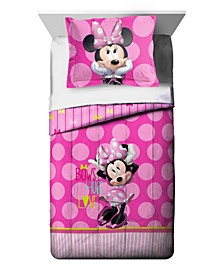 Minnie Mouse 2-Piece Twin Comforter Set