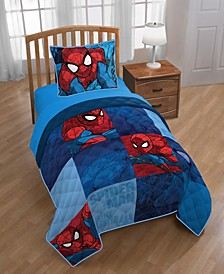 Spiderman 2-Piece Twin/Full Quilt Set