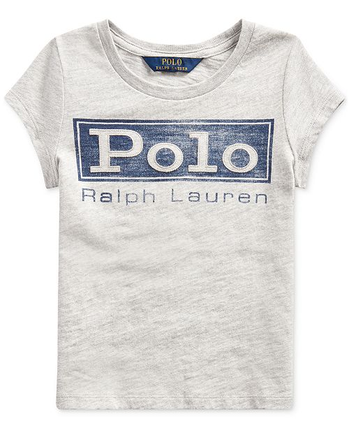 Polo Ralph Lauren Toddler Girl's Cotton Jersey Graphic T-Shirt