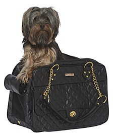 London Quilted Dog Carrier