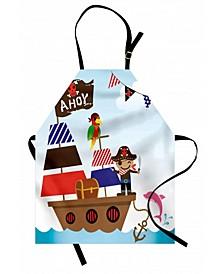 Ahoy Its A Boy Apron