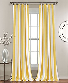 "Wilbur Stripe 52"" x 84"" Curtain Set"
