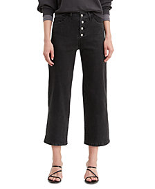 Levi's® Women's Mile High Cropped Button-Fly Jeans