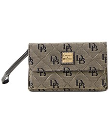 Signature Milly Wristlet